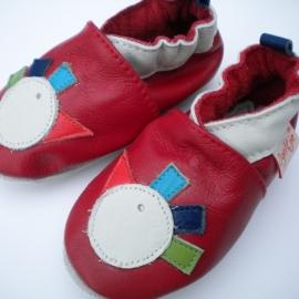 Babyslofjes rood