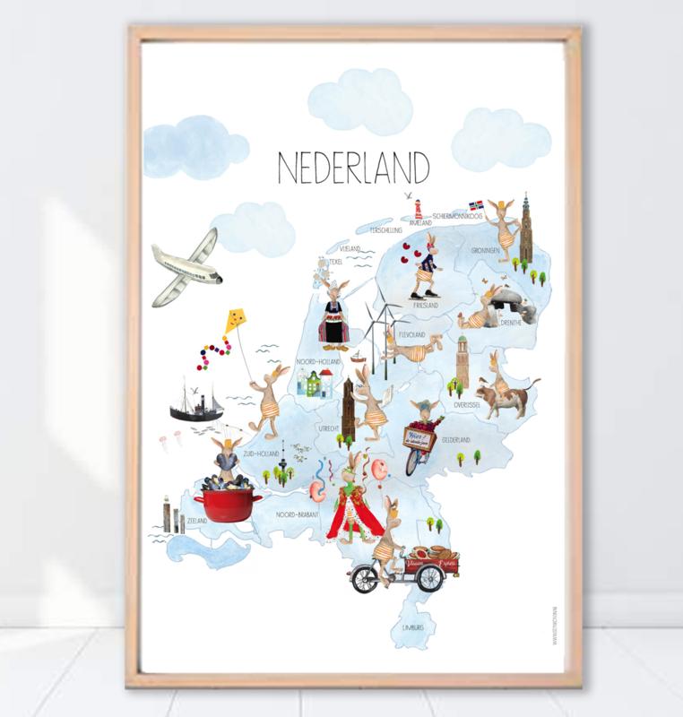 Gein konijn poster 'Nederland'