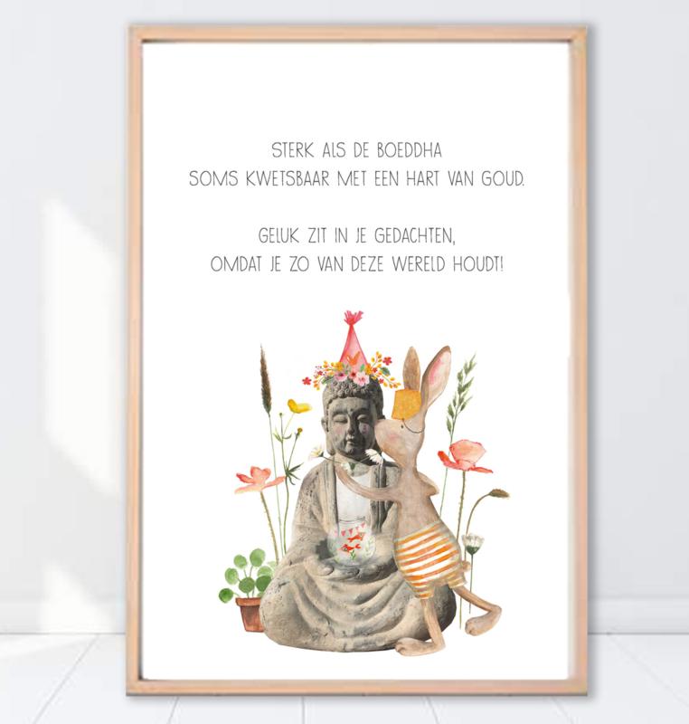 Gein Konijn poster 'Buddha'