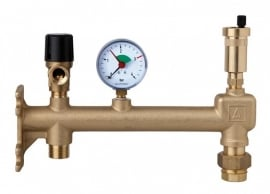 Expansievatconsole Caleffi - Messing