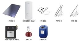 Junkers zonneboiler pakket FKC 5