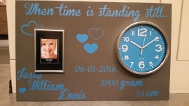 When time is standing stil... 40x60 cm