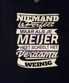 Sweater Niemand is perfect