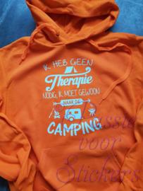 Ik heb geen therapie nodig -Camping
