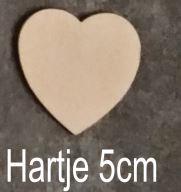 Hart 5 cm