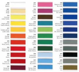 Kleuren stickers