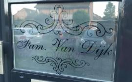 Naam/deurstickers