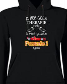 Ik heb geen therapie nodig - Formule 1 kijken