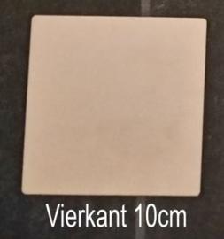 Vierkant 10cm