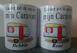 Liever zit in nu in mijn Caravan