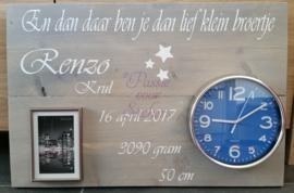 Steigerhout 38x60cm 1 kind