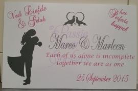 Speciale verzoeken vanaf trouwkaarten