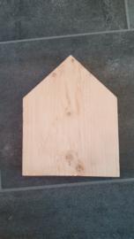 Steigerhouten huisje 10x15cm