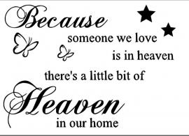 Because someone we love