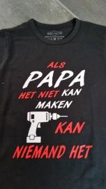 Als papa het niet kan...