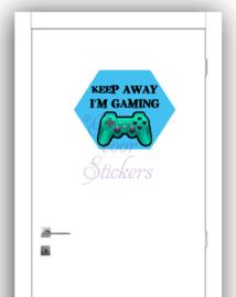Deursticker Gaming