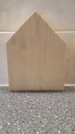 Steigerhouten huisje 15x20cm