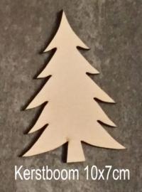 Kerstboom 10x7cm