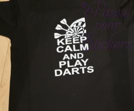 Keep calm and play darts