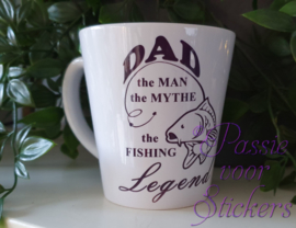 Dad, the man, the mythe, the fishing legend