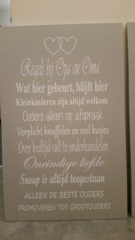 Regels bij Opa en Oma (1)