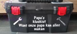Papa's kluskist 47cm