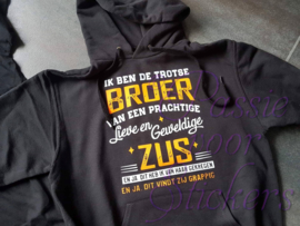Troste broer - sweater