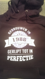 Sweater Gebrouwen in