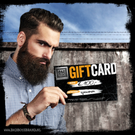 GIFTCARD T.W.V. €100,-