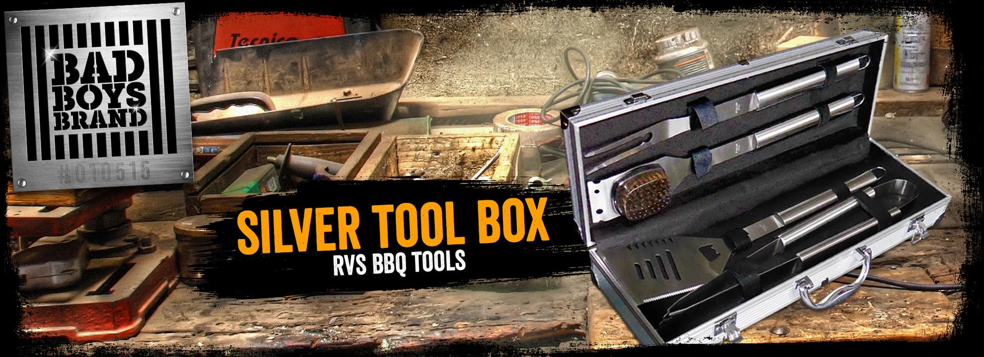 Silver Tool Box