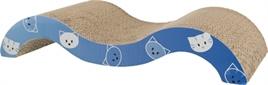 Trixie Krabkarton Catnip 50x23x9cm blauw