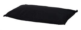 Woefwoef Hondenkussen Comfort Panama Zwart van 115 x 75 x 10 cm