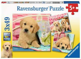 Ravensburger puzzel Schattige hondjes
