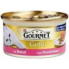 Gourmet mousse Rund 85 gr