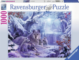 Ravensburger wolven in de winter 1000 stukjes