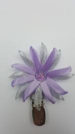 Showspeld lila / zilver klein
