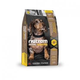 T27 Nutram Grain Free small breed Kalkoen Kip  eend Dog 2.27kg