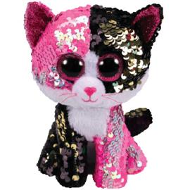 Ty Malibu roze/zwart