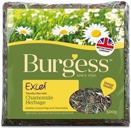 Burgess ecxel kamille 500gr. Op=op