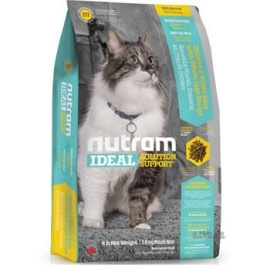 I17 Nutram Indoor Shedding cat 5,4kg