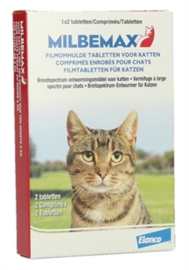 Milbemax Kat 2-8kg 2tbl