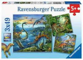 Ravensburger puzzel Dinosauriërs