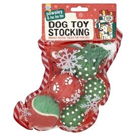 Good Boy Kerstsok Hond met Speelgoed