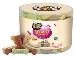Biscuits for dogs Bones mix 500gr
