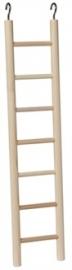 Houten ladder 7 treden 30 cm