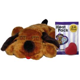 Snuggel puppy bruin