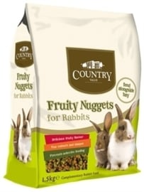 Burgess Country value fruity nuggets konijn 1,5 kg.