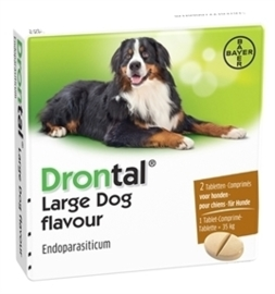 Drontal large dog tasty 2 tab.