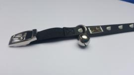 Halsband kat zwart /wit