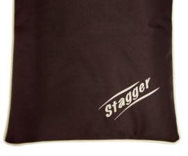 Stagger Benchmat Bruin 63x48cm